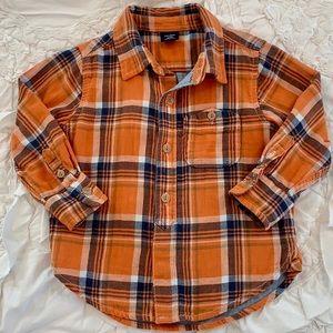 VGUC ⭐️ Gap Fall Flannel Button-Up 18-24 months